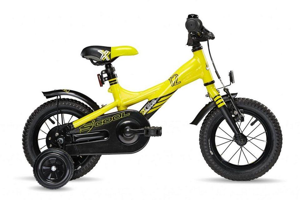 S'COOL Kinderrad »XXlite 12« in gelb