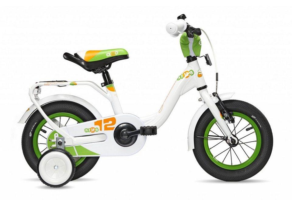 S'COOL Kinderrad »niXe 12« in weiß