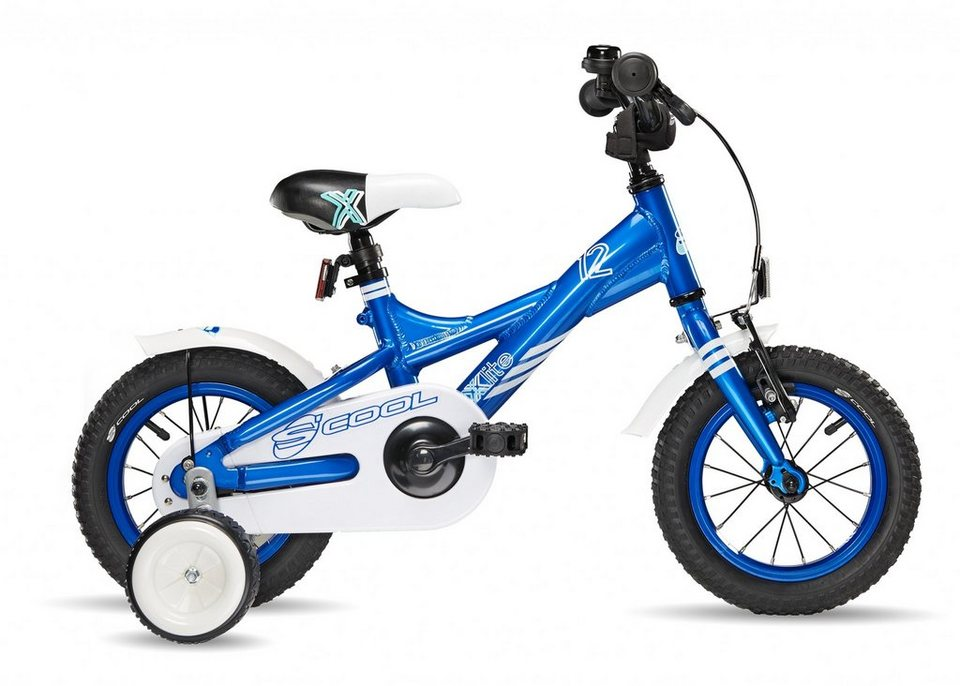 S'COOL Kinderrad »XXlite 12 blue« in blau