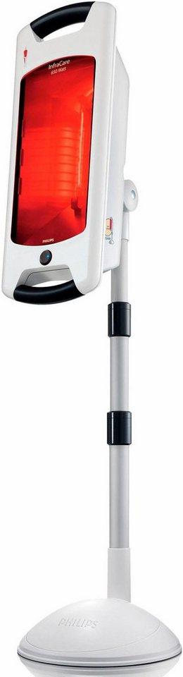 Philips Infrarot-Halogenlampe HP3643/01, InfraCare, 650 Watt, für große Anwendungsbereiche in weiß