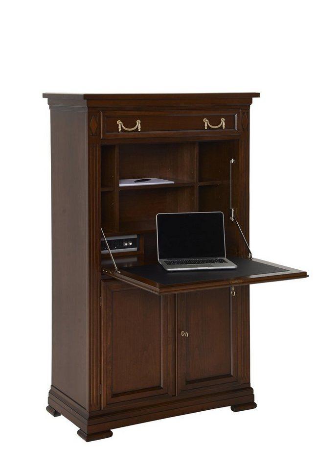 SELVA Sekretär »Villa Borghese« Modell 6375 in nussbaumfarbig antik