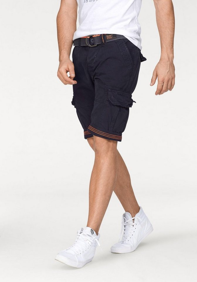 Superdry Bermudas »CORE CARGO LITE SHORT« in navy