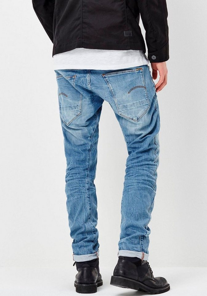 G-Star Slim-fit-Jeans »arc 3d slim« in medium-aged