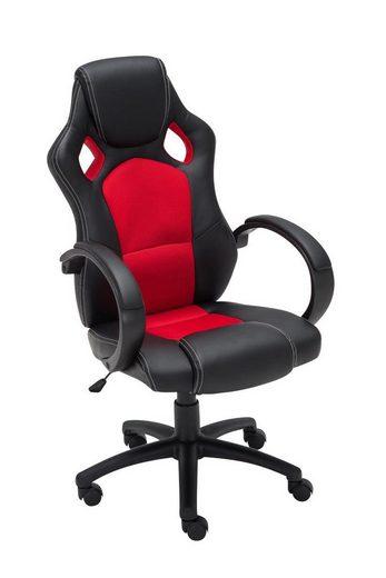 CLP Gaming Chair »Fire Kunstleder« höhenverstellbar und drehbar