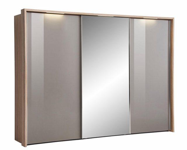 Kleiderschränke - nolte® Möbel Schwebetürenschrank (3 türig) »Marcato 1C« mit Fronten aus Glas und Spiegel  - Onlineshop OTTO