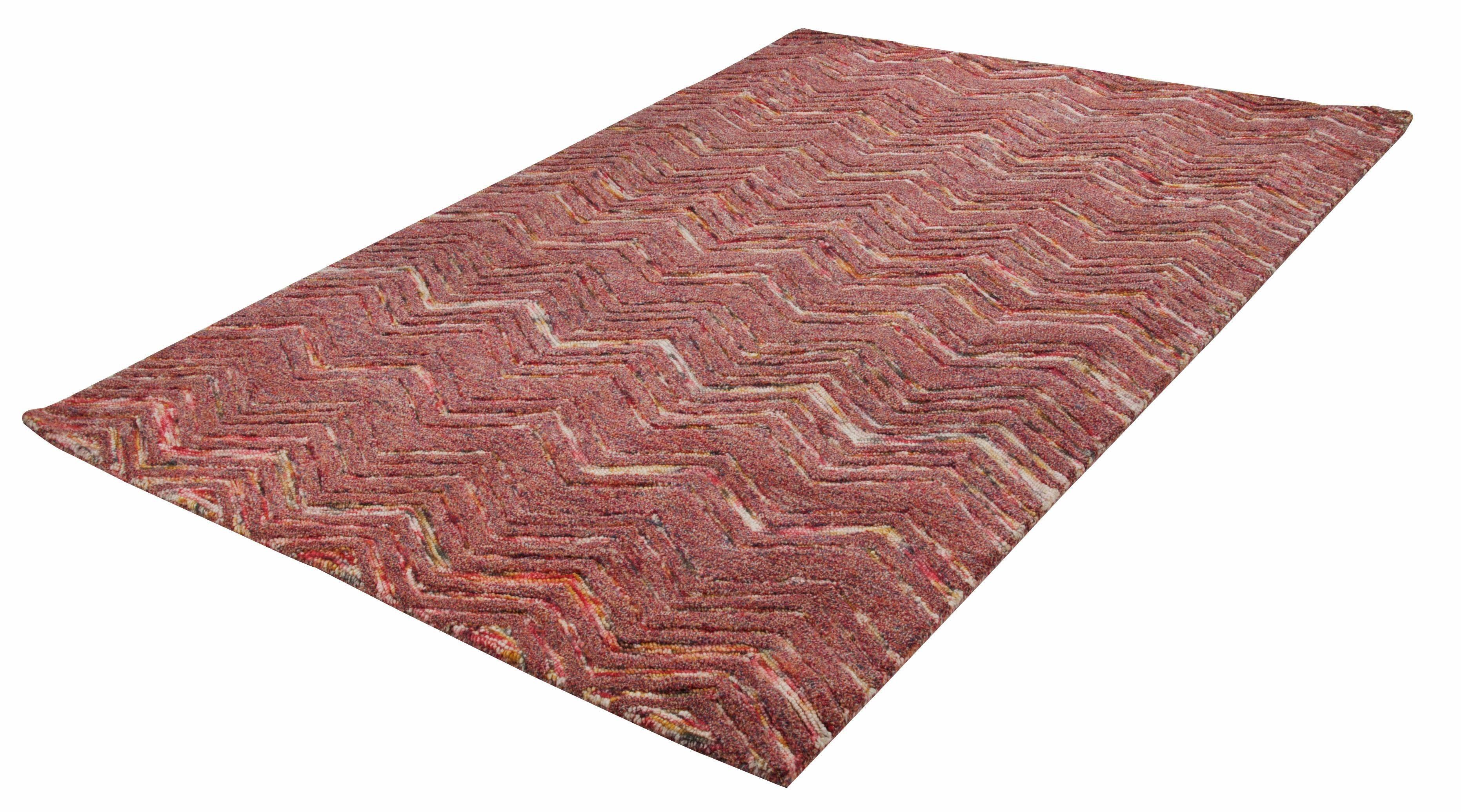 Teppich, Theko, »Modern Wool 2440«, reine Schurwolle, handgetuftet