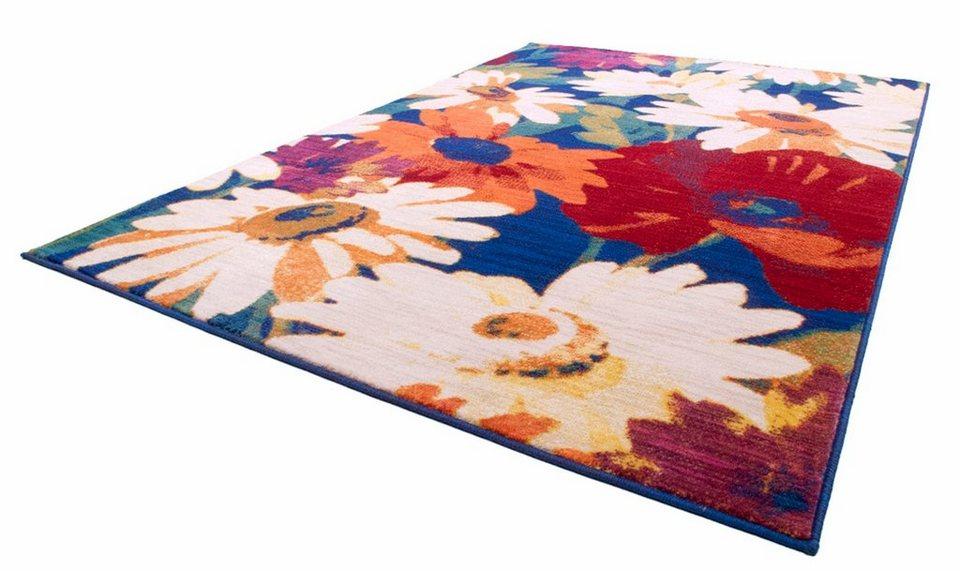 Teppich, Theko, »Summer 2066«, gewebt in multi