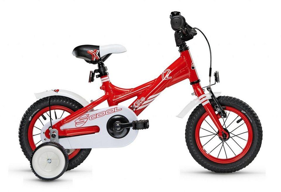 S'COOL Kinderrad »XXlite 12« in rot