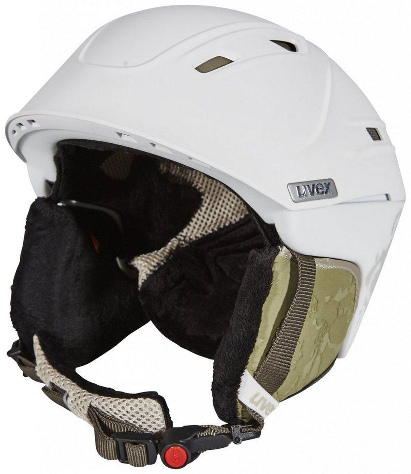 UVEX Ski - / Snowboardhelm »p2us WL Helmet Women« in weiß