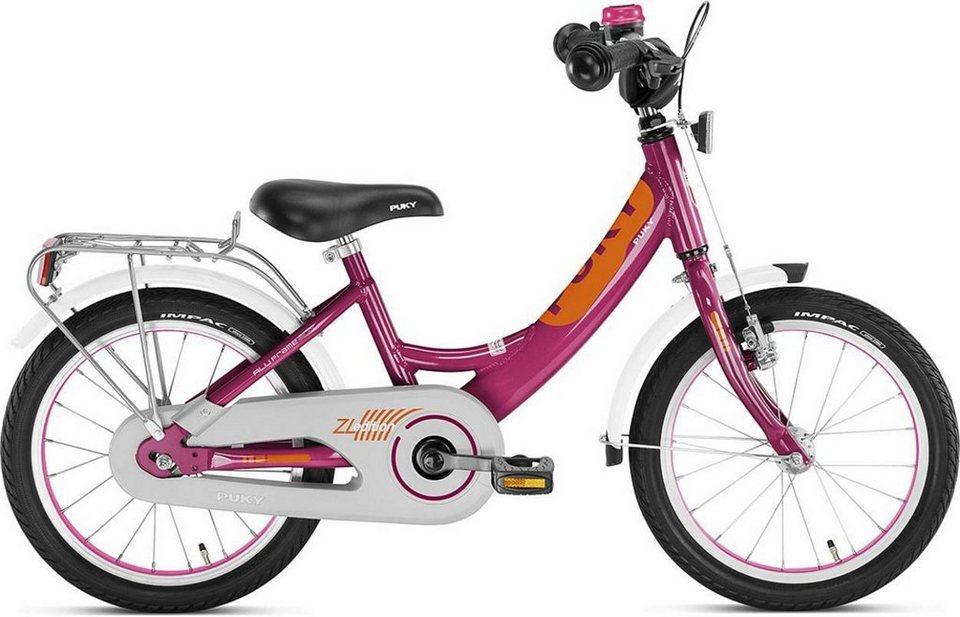 Puky Kinderrad »ZL 16-1 Kinderfahrrad Alu Edition« in pink