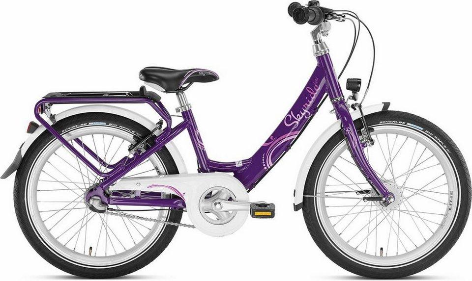 Puky Kinderrad »Skyride 20-3 Kinderfahrrad Alu light« in lila