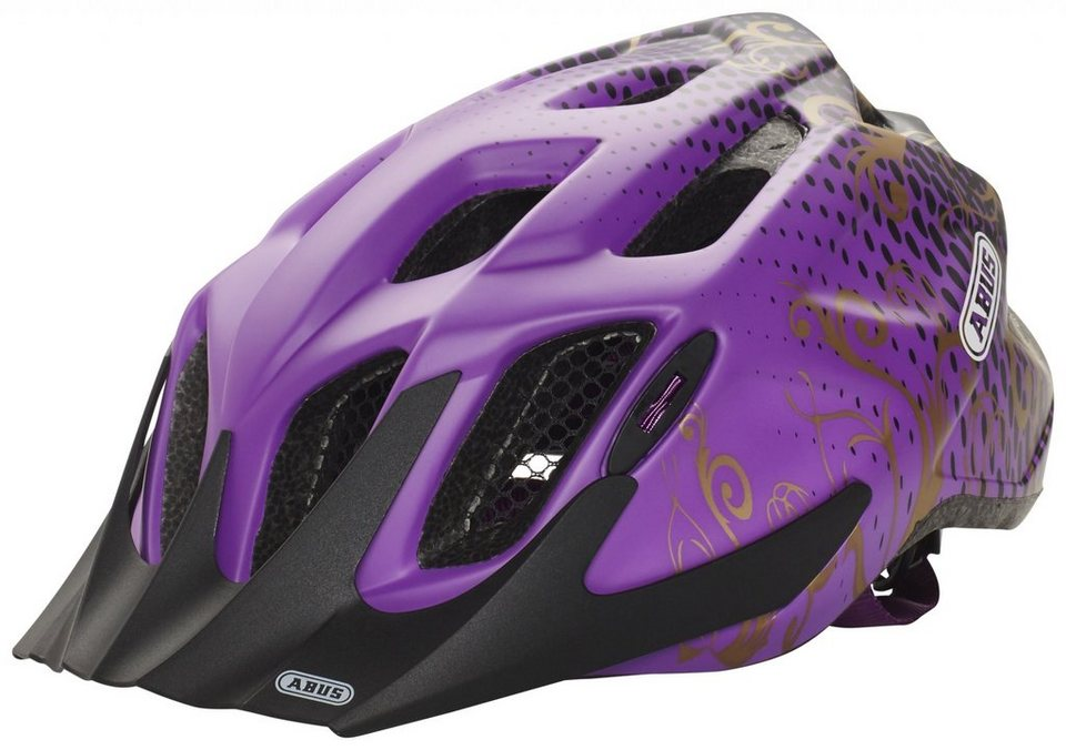 ABUS Fahrradhelm »MountX Helm« in lila