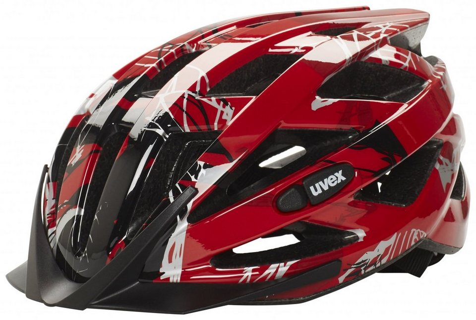UVEX Fahrradhelm »i-vo c Helm« in rot