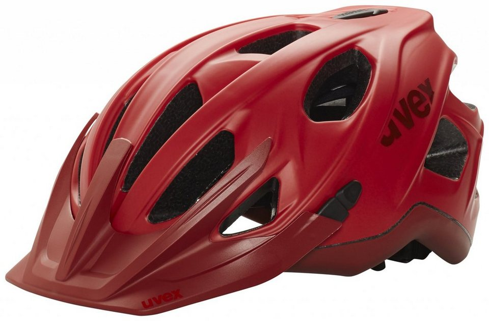 Uvex Fahrradhelm »stivo cc Helm« in rot