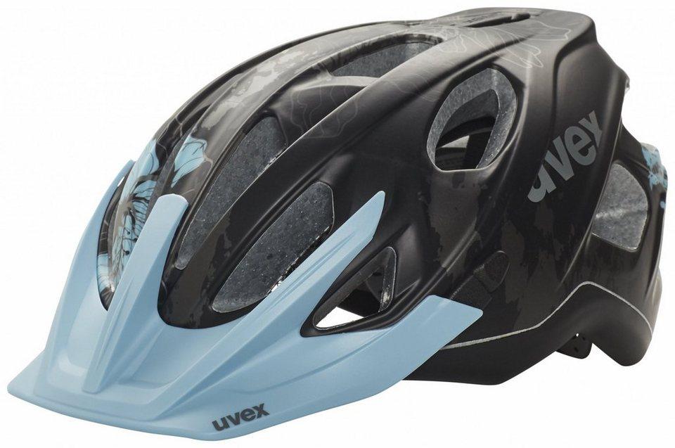 UVEX Fahrradhelm »stiva cc Helm Damen« in schwarz