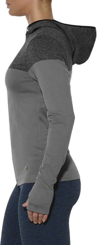 Asics Trainingsjacke »Seamless Jacket Women« in grau