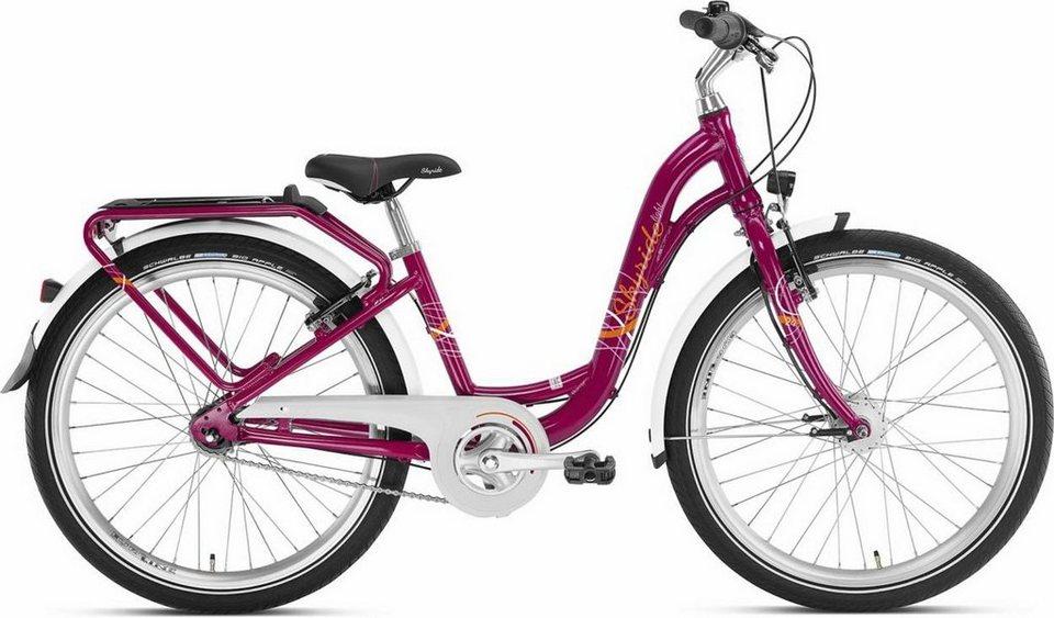 Puky Kinderrad »Skyride 24-7 Kinderfahrrad Alu light« in lila