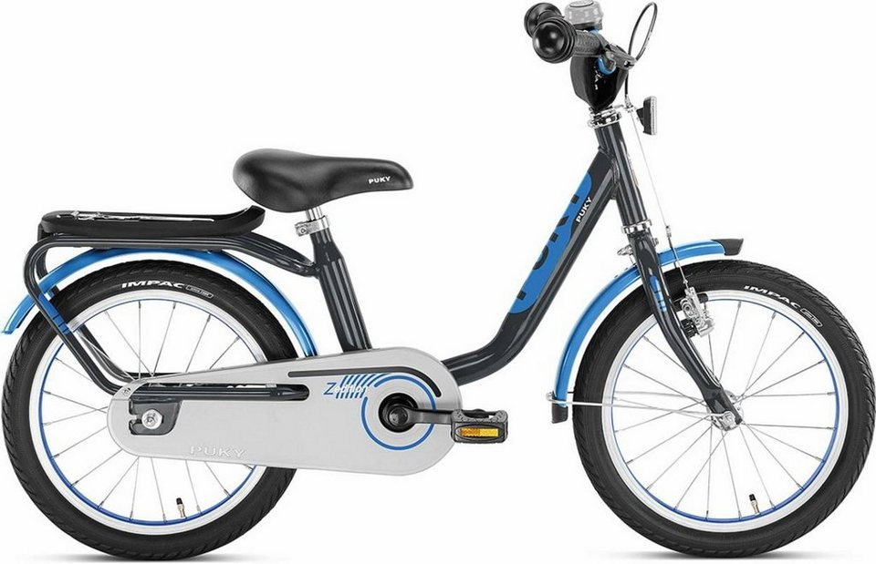 Puky Kinderrad »Z 6 Edition Kinderfahrrad« in blau