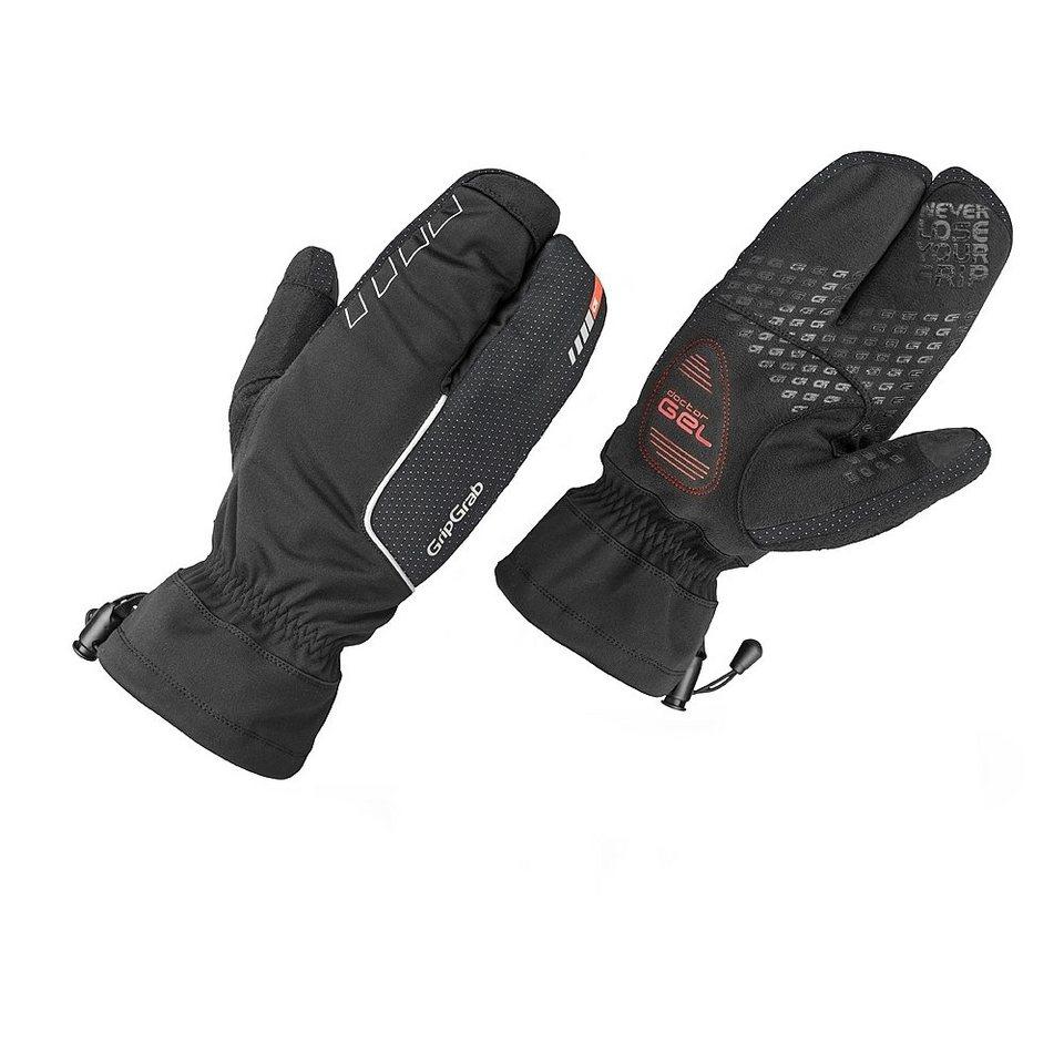 GripGrab Fahrrad Handschuhe »Nordic Handschuhe black« in schwarz