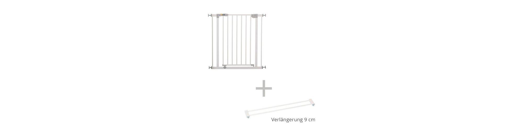 HAUCK Türschutzgitter + Verlängerung 9 cm Open' n Stop Safety Gate