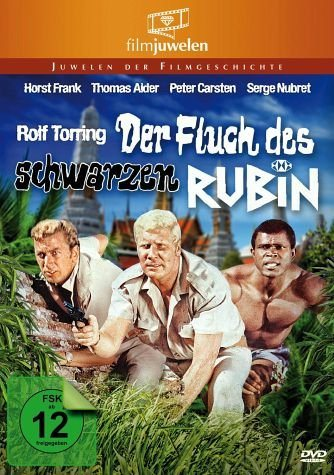 DVD »Der Fluch des schwarzen Rubin«