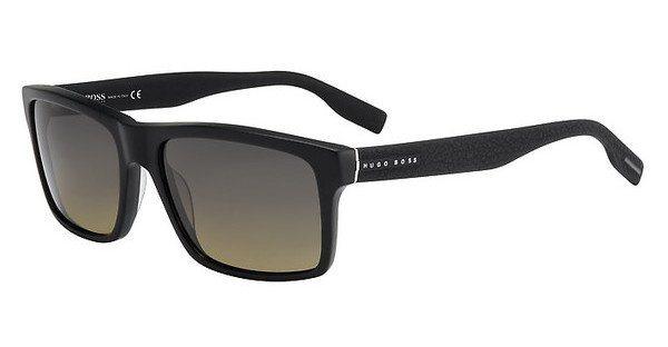 Boss Herren Sonnenbrille » BOSS 0509/S« in T7O/R4 - schwarz/ grün