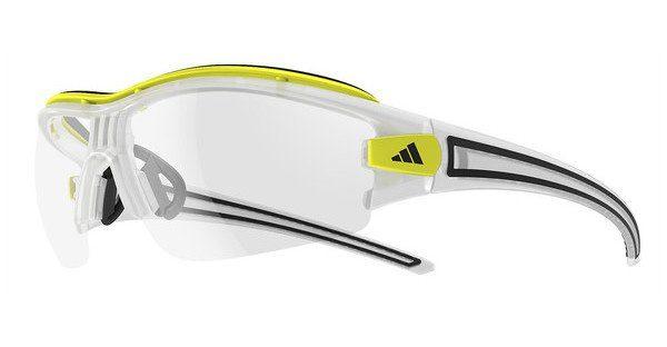 adidas Performance Adidas Performance Herren Sonnenbrille »Evil Eye Halfrim Pro L A181«, weiß, 6092 - weiß/transparent