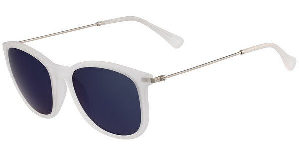 Calvin Klein Damen Sonnenbrille » CK3173S«, weiß, 011 - weiß/blau