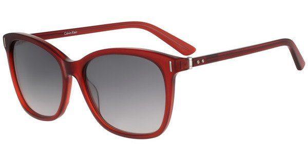 Calvin Klein Damen Sonnenbrille » CK8514S«, rot, 621 - rot/grau