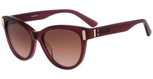 Calvin Klein Damen Sonnenbrille » CK8507S«, braun, 507 - braun/rot