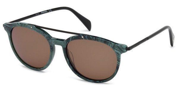 Diesel Herren Sonnenbrille » DL0188« in 98J - grün/braun