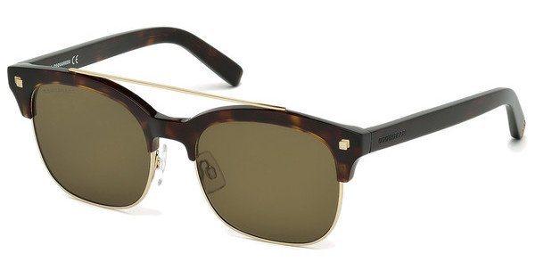 Dsquared² Sonnenbrille » DQ0207« in 52K - braun/braun