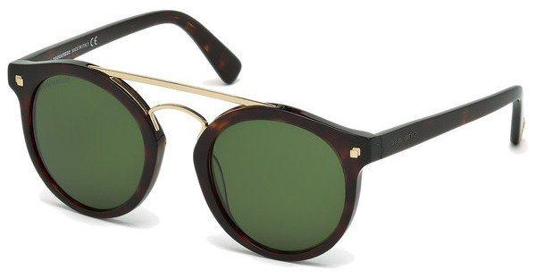 Dsquared² Sonnenbrille » DQ0202« in 52N - braun/grün