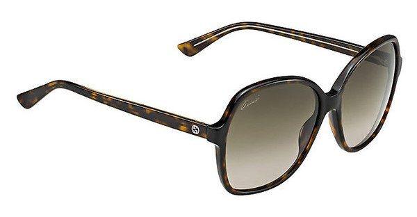 Gucci Damen Sonnenbrille » GG 3721/S« in HNZ/HA - braun/braun