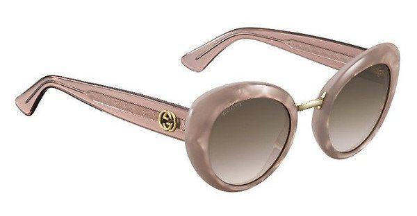 Gucci Damen Sonnenbrille » GG 3808/S« in R4F/J6 - rosa/braun
