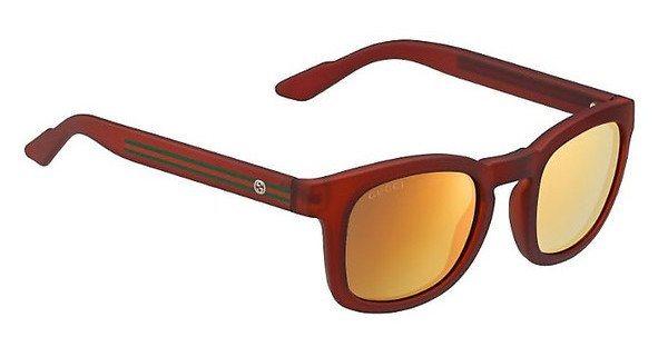 Gucci Herren Sonnenbrille » GG 1113/S« in M7C/UW - rot/orange