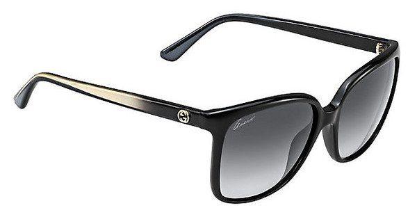 Gucci Damen Sonnenbrille » GG 3696/S« in AM3/HD - schwarz/grau