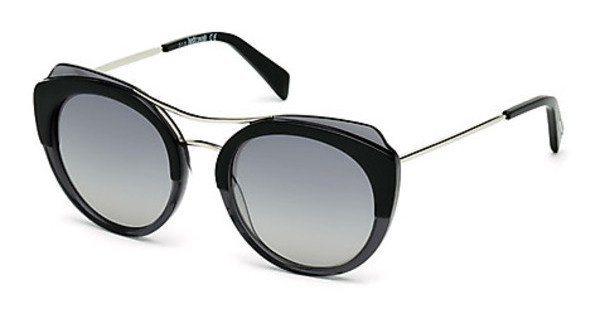 Just Cavalli Damen Sonnenbrille » JC723S« in 05B - schwarz/grau