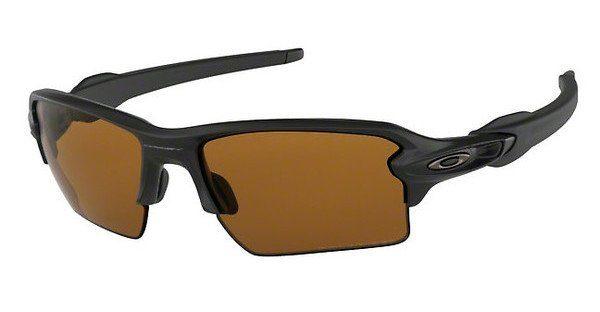 Oakley Herren Sonnenbrille »FLAK 2.0 XL OO9188«, schwarz, 918807 - schwarz/braun