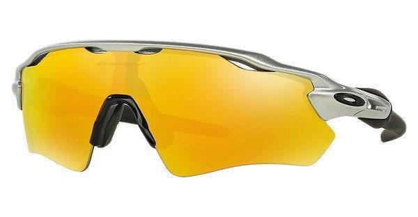 Oakley Herren Sonnenbrille »RADAR EV PATH OO9208« in 920802 - silber/gelb