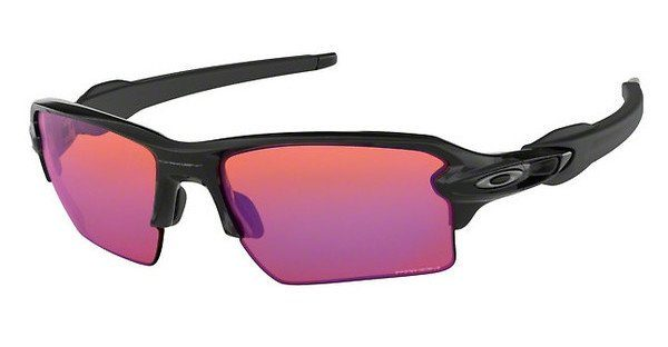 Oakley Herren Sonnenbrille »FLAK 2.0 XL OO9188«, schwarz, 918806 - schwarz/rosa