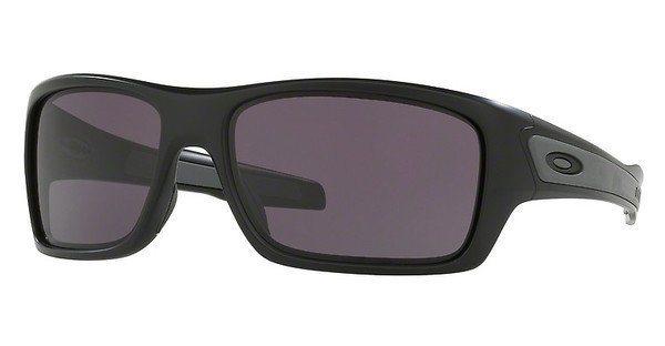 Oakley Herren Sonnenbrille »TURBINE OO9263« in 926301 - schwarz/grau