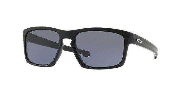 Oakley Herren Sonnenbrille »SLIVER OO9262« in 926201 - schwarz/grau