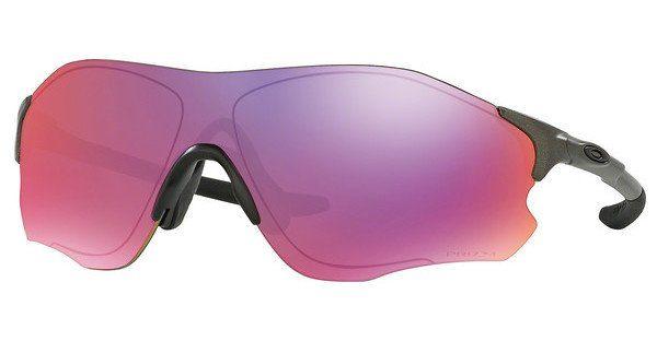 Oakley Herren Sonnenbrille »EVZERO PATH OO9308«, blau, 930822 - blau/rot