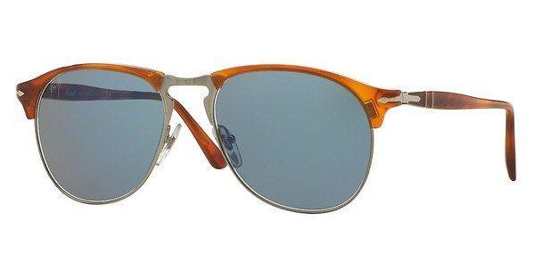 Persol Herren Sonnenbrille » PO8649S« in 96/56 - braun/blau