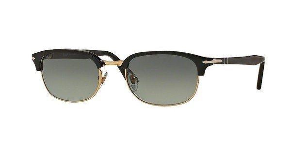 Persol Herren Sonnenbrille » PO8139S« in 95/71 - schwarz/grau