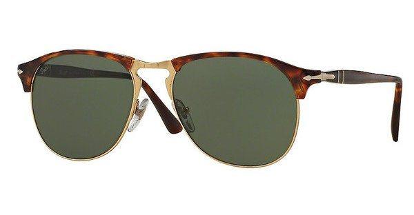 Persol Herren Sonnenbrille » PO8649S« in 24/31 - braun/grün