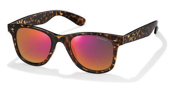 Polaroid Sonnenbrille » PLD 6009/S M« in V08/OZ - braun/rot