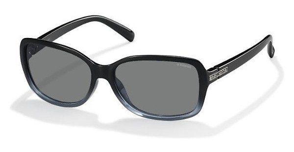 Polaroid Damen Sonnenbrille » PLD 5012/S«, blau, LKP/C3 - blau/grau