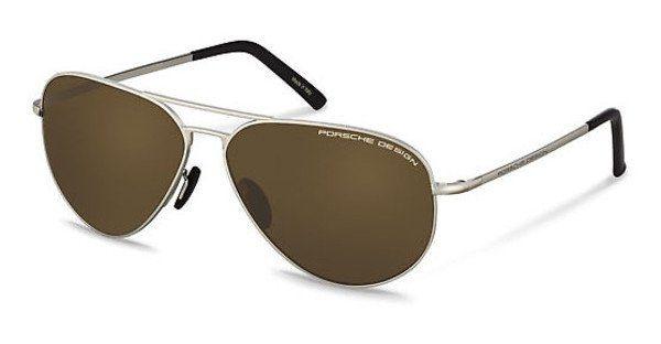 PORSCHE Design Porsche Design Herren Sonnenbrille » P8617«, goldfarben, A - gold/grün